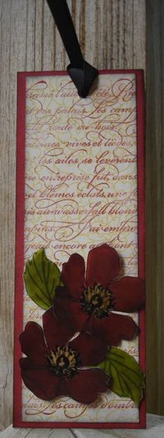 Stampin- Up-Fabulous-Florets-Easy-Bookmark