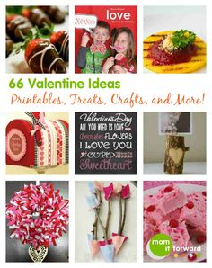 66 Valentine Ideas – Printables, Treats, Crafts, and More!