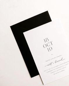 Spring Wedding Invitations, Minimalist Wedding Invitations, Wedding Stationary, Invitation Card Design, Invitation Cards, Invitation Suite, Invitation Ideas, Invites, Wedding Paper