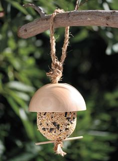 How to Make an Acorn Bird Feeder - Craftfoxes