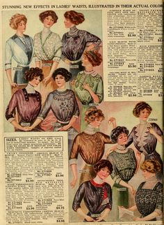 Source of photos: Ladies Home Journal (March, 1912) | Early 1900s ...