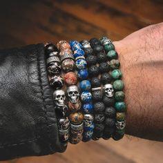 Neck Accessories, Rock Chic, Stone Bracelet, Chains, Jewellery, Paris, Bracelets, Rings, Men