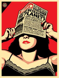 Global Warning - Obey Giant