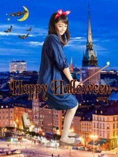 Happy Halloween 🎃👻 LEPSIMさんのアイテムで BBAもコスプレ♡♡ …ぢ