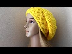 How To Knit A Braid With Moss Stitch Hat, Lilu's Knitting Corner Video # 67