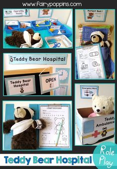 Includes hospital word wall, signs, labels, patient chart, ambulance craft and other printables – Fairy Poppins Eyfs Activities, Preschool Activities, Bears Preschool, Leadership Activities, Kindergarten Centers, Group Activities, Winter Activities, Physical Activities, Physical Education