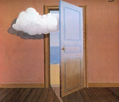 Intercepted by Gravitation René Magritte