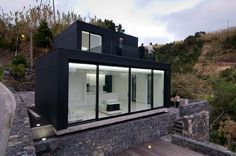 Modern Weekend Retreat With Privileged Views In The Azores, Portugal