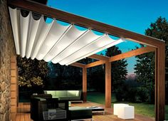 'pergotenda' retractable awning