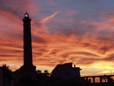 Atardecer en Chipiona (Cádiz) / Sunset over Chipiona (Cádiz)