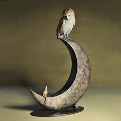 Portfolio - Details - Night Owl and Moon | Theodore Gillick