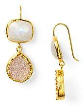 Caoralia Leets earrings from Bloomies :)
