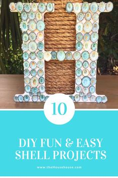 Handmade beauty products make a great DIY gift idea. Diy Projects On A Budget, Diy Projects For Kids, Craft Projects, Craft Ideas, Sea Crafts, Seashell Crafts, Summer Diy, Easy Diy, Amazing Crafts