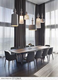 jadalnia, Ekskluzywny, nowoczeny wystrój, wspaniałe aranżacje, cimepłe mieszkanie, design warty zobaczenia