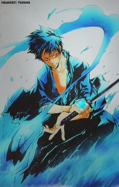 Katekyo Hitman Reborn(с) Akira Amano Character: Gokudera Hayato Tool: PS CS/ SAI / Color(c) me