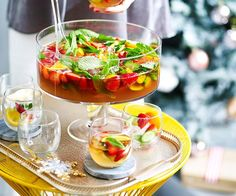 Pimm's is a gin-based liquor infused with liqueur, fruit juices and spices. Party Food And Drinks, Fruit Drinks, Coconut Jam Drops, Pimms Punch, Jam Drops Recipe, Thai Green Chicken Curry, Gelato Recipe, Rum Balls, Drink