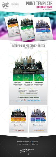 #Corporate #Flyer - #Corporate Flyers Corporate Brochure Design, Corporate Flyer, Corporate Business, Business Brochure, Business Design, Business Flyers, Psd Flyer Templates, Business Powerpoint Templates, Print Templates