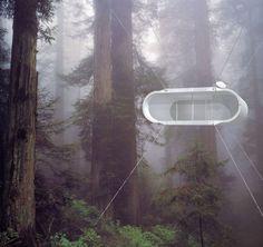舊金山的Kyu Che公司設計瞭如上圖的這款建築裝置——名字是Lifepod