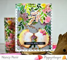 Memory Box Cards, Sending Hugs, Animal Cards, Hedges, Some Fun, Happy New, Card Stock, Stampin Up
