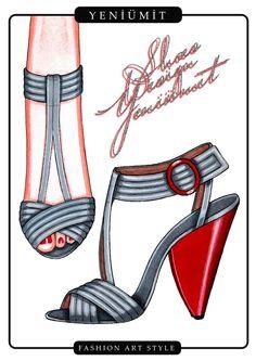 ayakkabı tasarımları..