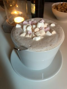 "Hot chocolate at ""Det Lille Hjørnet"" in Fargegaten, Stavanger❤️"