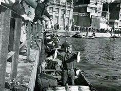 Galata Köprüsü, 1950ler #istanlook #birzamanlar #nostalji