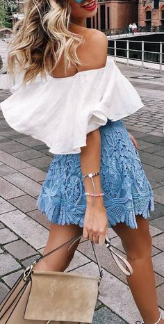 10 Gorgeous Skirts To Look Fabulous This Summer as featured on Pasaboho. ❤️ :: boho fashion :: gypsy style :: hippie chic :: boho chic :: outfit ideas :: boho clothing :: free spirit :: fashion trend :: embroidered :: flowers :: floral :: lace :: summer :: fabulous :: love :: street style :: fashion style :: boho style :: bohemian :: modern vintage :: ethnic tribal :: boho bags :: embroidery dress :: skirt :: cardigans :: jacket :: sweater :: tops