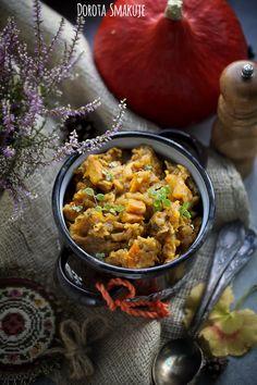 Bigos z dynią Simply Recipes, Vegan Recipes Easy, Chana Masala, Salad, Lunch, Homemade, Ethnic Recipes, Breakfast Ideas, Food