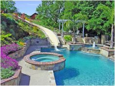 Swimming Pool Landscaping Images