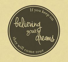 Believe in your dreams and they will come true for you, no matter how high or far this decal will help you get there. Available in a variety of sizes this decal will look fantastic in any colour!