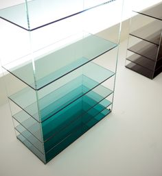Deep Sea, Glass Furniture Collection By Nendo