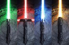 Whats your lightsaber color? Mine is green for sure Art by Star Wars Pictures, Star Wars Images, Star Wars Boba Fett, Star Wars Clone Wars, Star Trek, Star Wars Comics, Star Wars Humor, Lightsaber Colors, Star Wars Canon