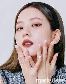 Blackpink Jisoo, Marie Claire, Blackpink Icons, Square Two, Dior Beauty, Blackpink Photos, Pictures, Blackpink Fashion, Jennie Blackpink