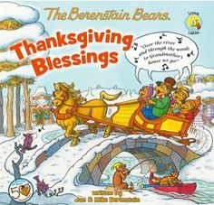e-Book Sale: The Berenstain Bears Thanksgiving Blessings ~ 99 cents! {read it on your iPad, Kindle, Phone or Computer!} #ebooks #thefrugalgirls