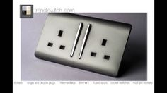 trendiswitch.com Decorative Designer Glossy Light Switches & Plug Sockets