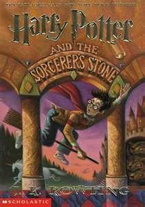 Harry Potter by J. K. Rowling...famous Harry Potter the boy who lived.