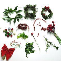 DIY miniature christmas decor