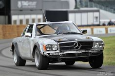 Battered and bruised - 1980 Mercedes-Benz 500 SLC Rally