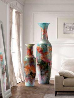 si quieres comprar jarrones para decorar visita nuestra tienda en internet de articulos decorativos de