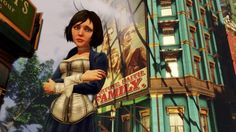 Ken Levine's Bioshock Infinite BAFTA presentation video released Bioshock Infinite Ps3, Bioshock Game, Bioshock Infinite Elizabeth, Elizabeth Comstock, Irrational Games, Elsa And Hans, Underwater City, Presentation Video, Dibujo