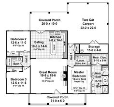 141-1243 house plan first floor