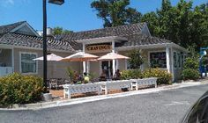 Cravings Steaks & Seafood Patio...A must try in Duck, NC