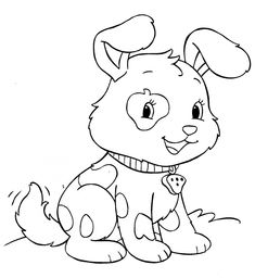 dog coloring pages   ... printable coloring page Draw A Black Lab ...