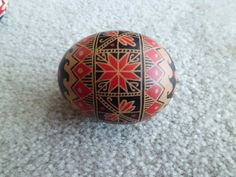 red on brown egg, 2012