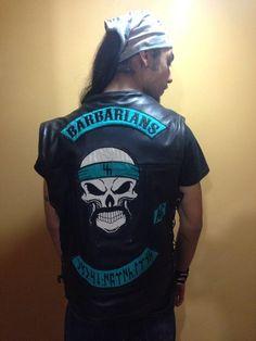 #barbarians #barbariansmc barbarians mc #turk #turkmen #mongol #mongols #antiantifa #turkcu #türkçü #turkish #turkey #mk #soldier #ottoman #tengri #shaman #kam #altai #altay #türk #türkiye #motor #çete Motorcycle Logo, Motorcycle Clubs, Bike Gang, Biker Clubs, Biker Vest, Color Club, Rocker Style, Custom Harleys, Rockers