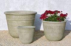 Carema cast stone Large Planter made by Campania International