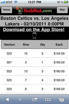 Mobile Ticket Website - Mobile...