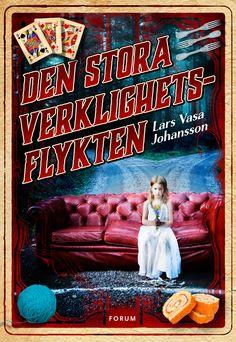 Den stora verklighetsflykten av Lars Vasa Johansson. Utkommer på Forum förlag. Foto: Eva Lindblad, 1001bild.se.