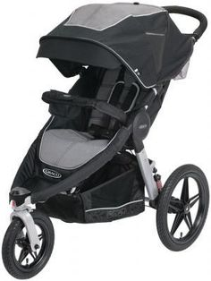 Прогулочная коляска Graco Replay Jogger Panther  — 24580р. ----- Тип: Коляска прогулочная, Бренд: GRACO, Цвет: серый, Количество колёс: 3-х колёсная, Особенности: ремни безопасности