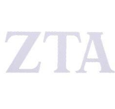 Zeta Tau Alpha Compu-Cal style decal